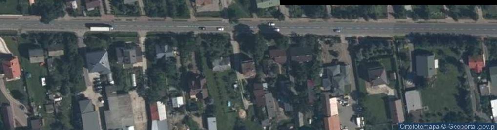 Zdjęcie satelitarne Węgrowska ul.