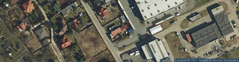 Zdjęcie satelitarne Wenecka ul.
