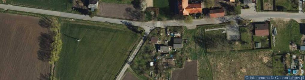 Zdjęcie satelitarne Węgrowo ul.