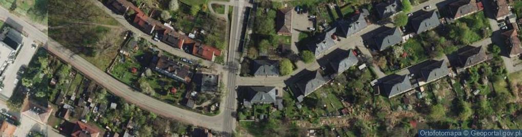 Zdjęcie satelitarne Węgielna ul.