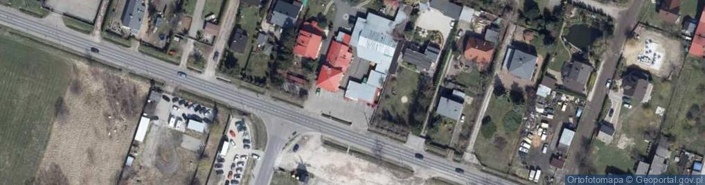 Zdjęcie satelitarne Wierzbińska ul.