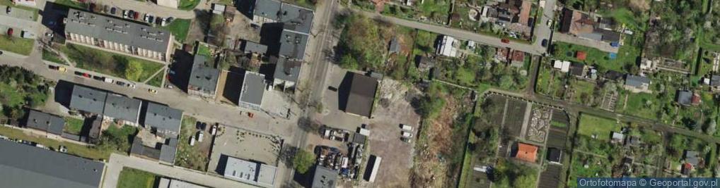 Zdjęcie satelitarne Witczaka Stanisława ul.