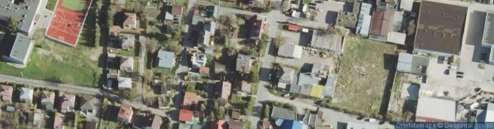 Zdjęcie satelitarne Wierzbowa ul.