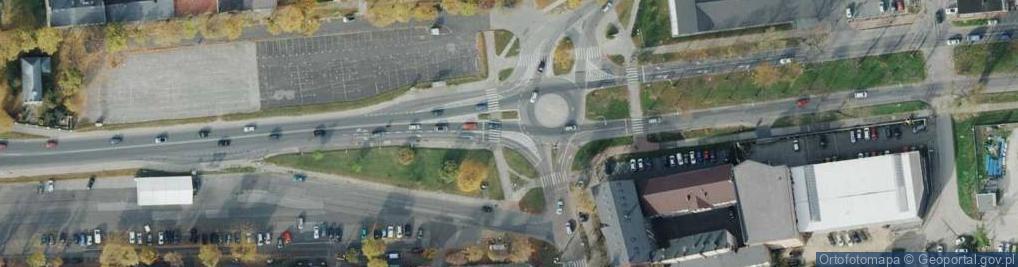 Zdjęcie satelitarne Wieluńska ul.