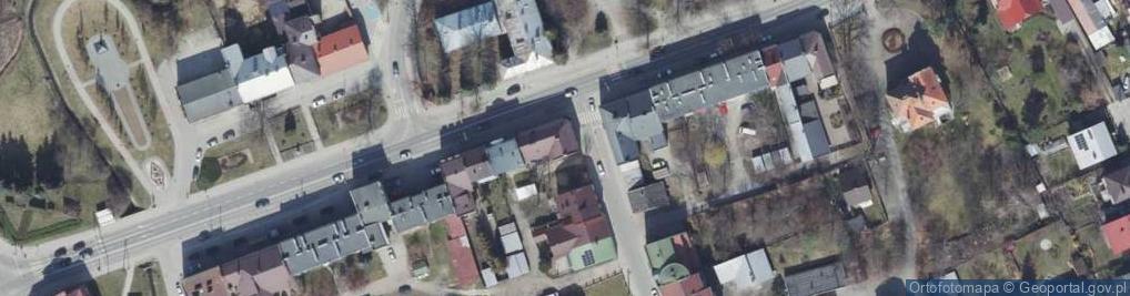 Zdjęcie satelitarne Wielopolska ul.