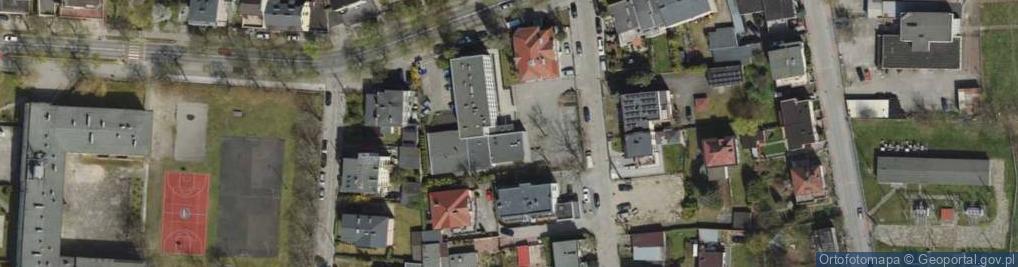 Zdjęcie satelitarne Witomińska ul.