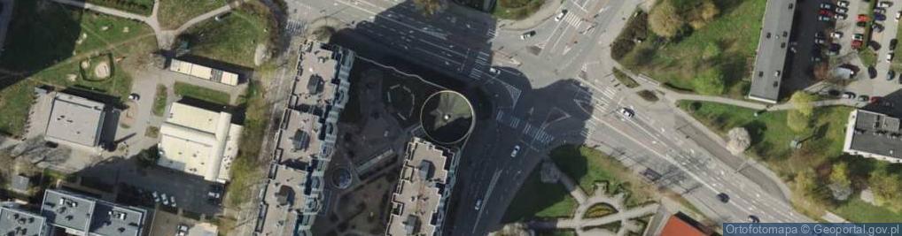 Zdjęcie satelitarne Wielkokacka ul.