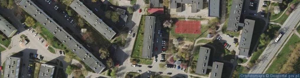 Zdjęcie satelitarne Widna ul.