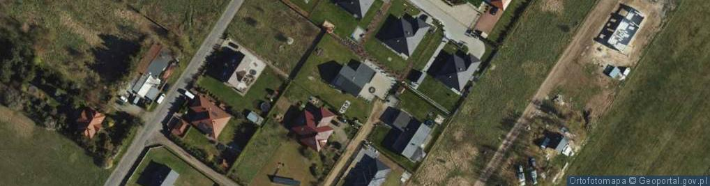 Zdjęcie satelitarne Wierzbowy Zakątek ul.
