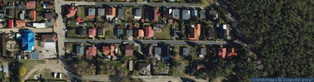 Zdjęcie satelitarne Wiosenna ul.