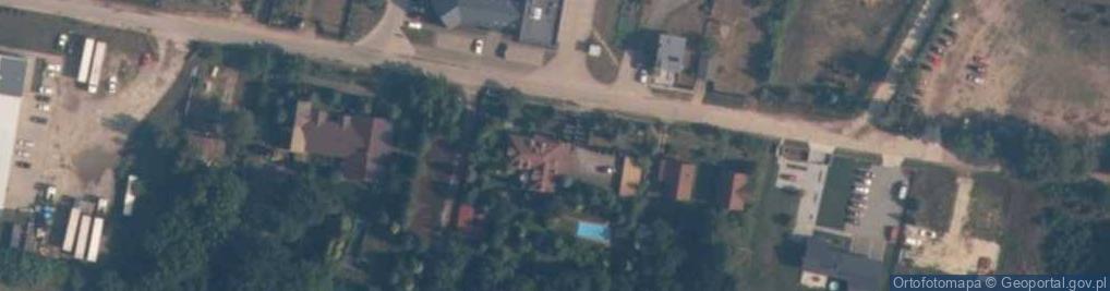 Zdjęcie satelitarne Wielki Las ul.