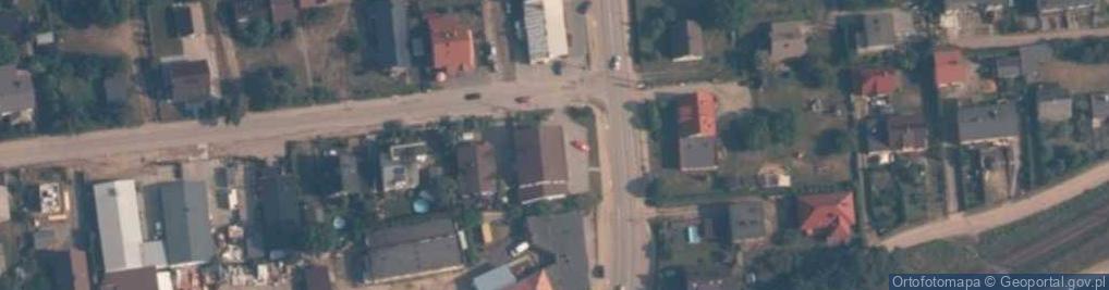 Zdjęcie satelitarne Wilczka ul.