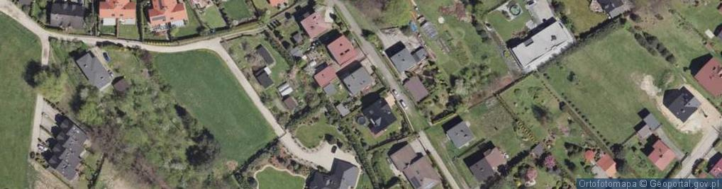 Zdjęcie satelitarne Wiązowa ul.