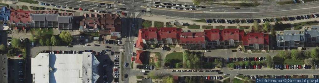 Zdjęcie satelitarne Wilczyńskiego Tomasza, bp. ul.
