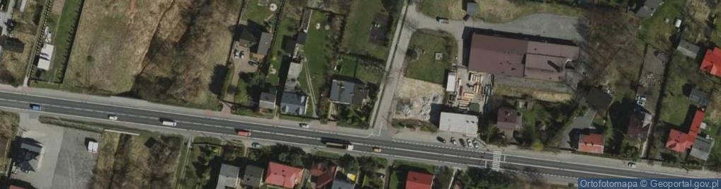Zdjęcie satelitarne Wiedzy ul.