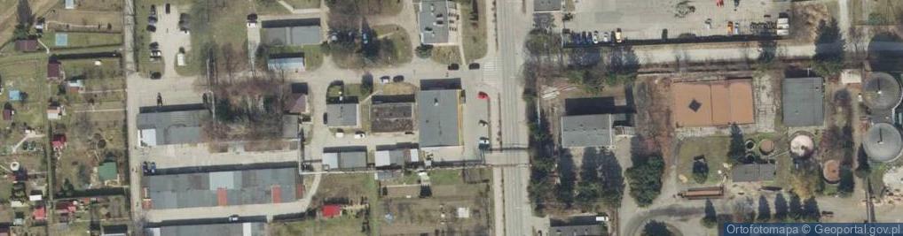 Zdjęcie satelitarne Wiarowa ul.