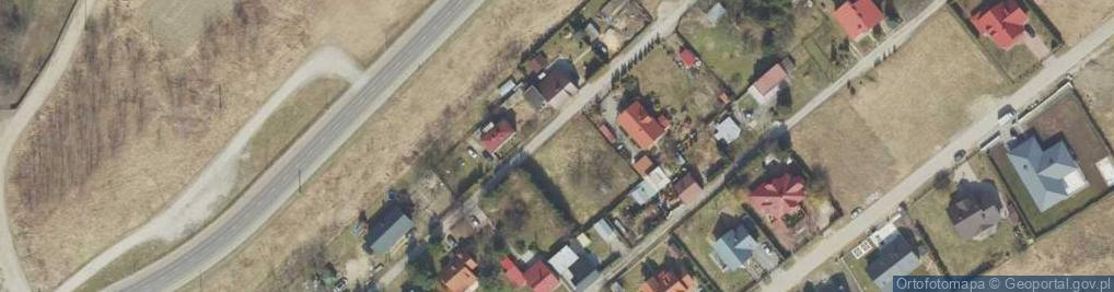 Zdjęcie satelitarne Wiśniowa ul.