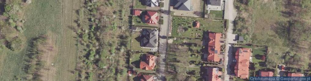 Zdjęcie satelitarne Wiedeńska ul.