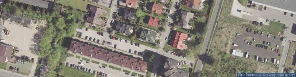 Zdjęcie satelitarne Witkowskiego Stefana ul.