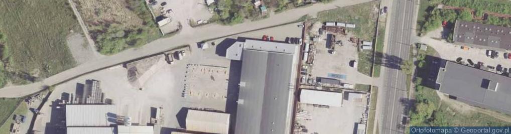 Zdjęcie satelitarne Wierzbicka ul.