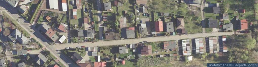 Zdjęcie satelitarne Wilcza ul.