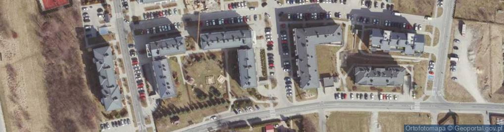 Zdjęcie satelitarne Widokowa ul.