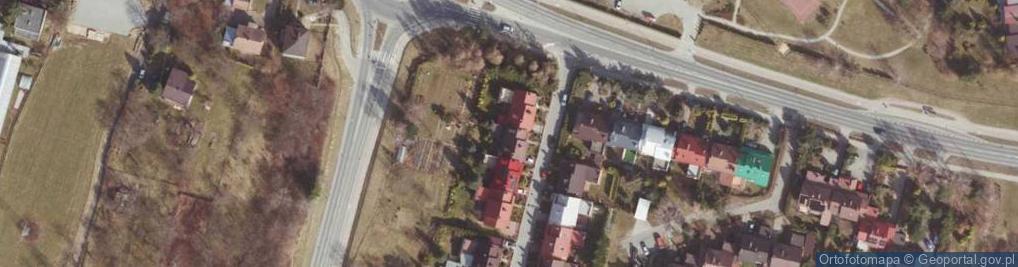 Zdjęcie satelitarne Wiktora Jana ul.