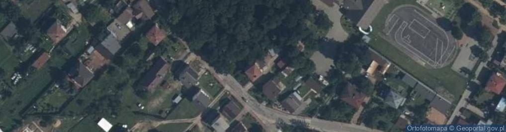 Zdjęcie satelitarne Wiatraki ul.
