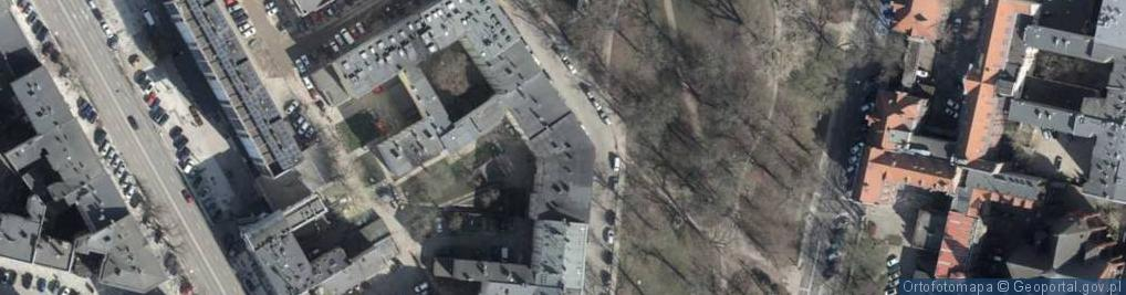 Zdjęcie satelitarne Więckowskiego Stanisława ul.