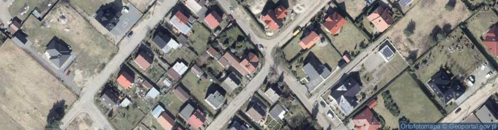 Zdjęcie satelitarne Wilgi ul.