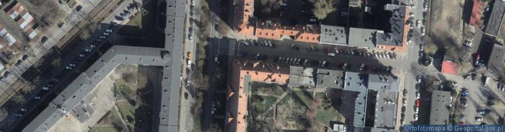 Zdjęcie satelitarne Wilków Morskich ul.