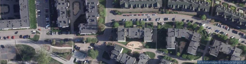 Zdjęcie satelitarne Witkowskiego Leona ul.