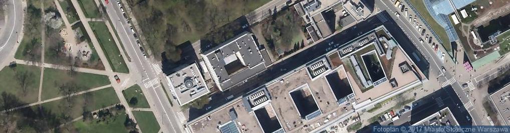 Zdjęcie satelitarne Wiślana ul.