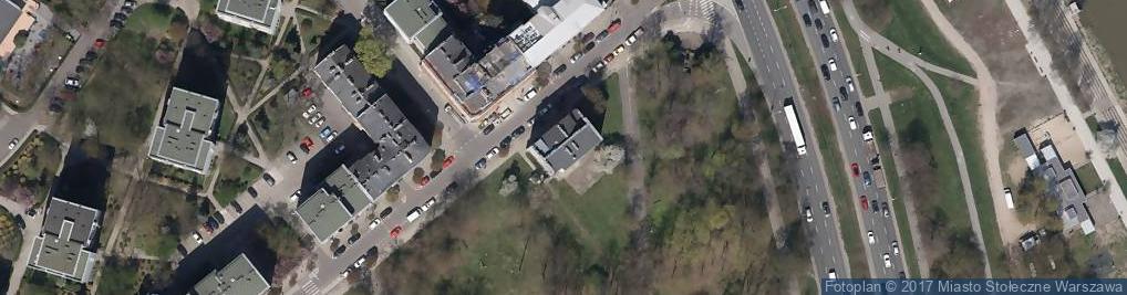Zdjęcie satelitarne Wilanowska ul.