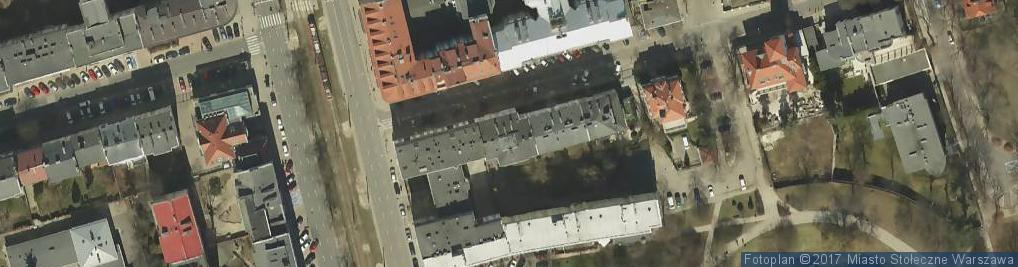 Zdjęcie satelitarne Willowa ul.