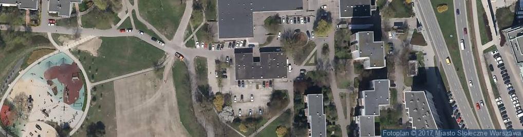 Zdjęcie satelitarne Wiolinowa ul.
