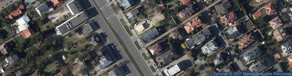 Zdjęcie satelitarne Wiertnicza ul.