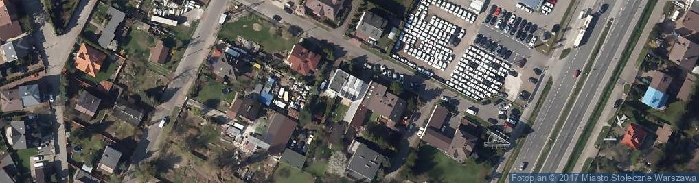 Zdjęcie satelitarne Wiewiórki ul.