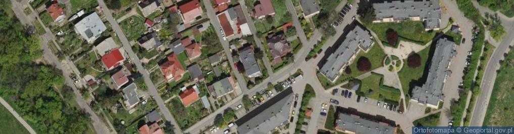 Zdjęcie satelitarne Witkowska ul.