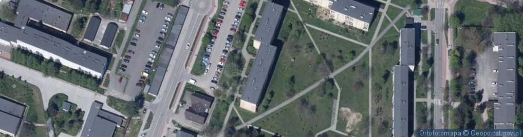 Zdjęcie satelitarne Włókniarzy ul.
