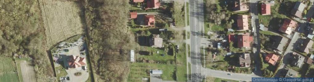 Zdjęcie satelitarne Włodawska ul.