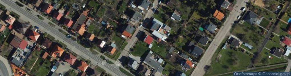 Zdjęcie satelitarne Władysława IV ul.