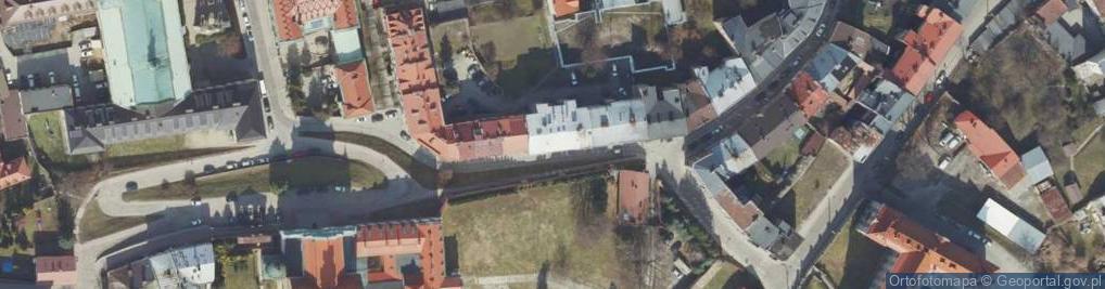 Zdjęcie satelitarne Władycze ul.