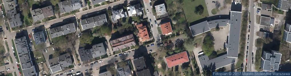 Zdjęcie satelitarne Włoska ul.