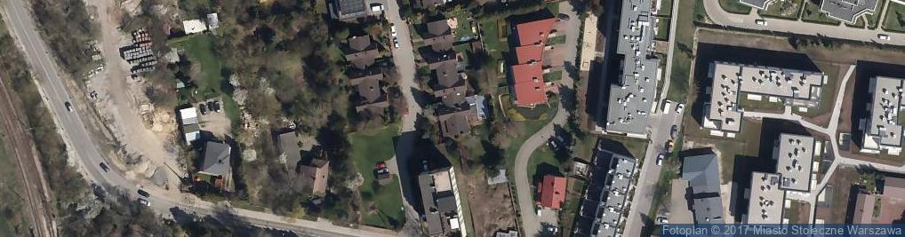 Zdjęcie satelitarne Włodarzewska ul.