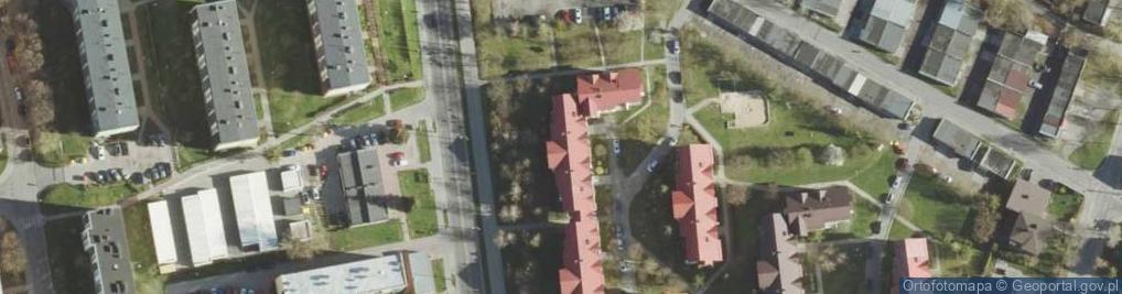 Zdjęcie satelitarne Wojsławicka ul.