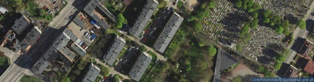 Zdjęcie satelitarne Wolskiego Michała ul.