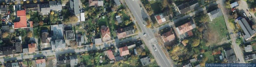 Zdjęcie satelitarne Wolna ul.