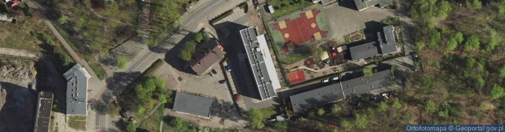 Zdjęcie satelitarne Wojska Polskiego ul.