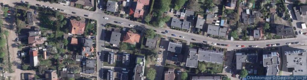 Zdjęcie satelitarne Wodociągowa ul.